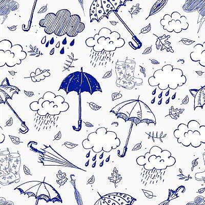 Papel de parede guarda-chuva fp111