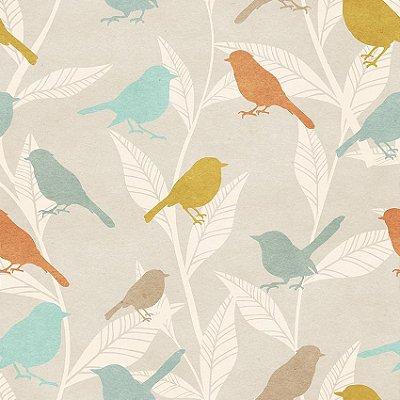 Papel de parede pássaros fp134