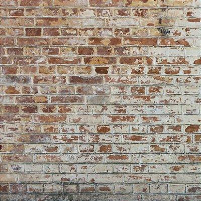 Papel de parede tijolinho antigo fp390
