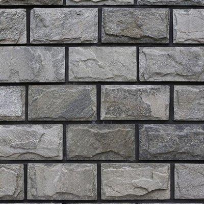 Papel de parede tijolinho escuro fp398