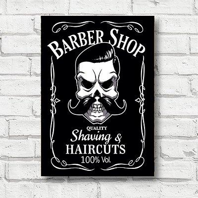 Placa decorativa barbearia FP062
