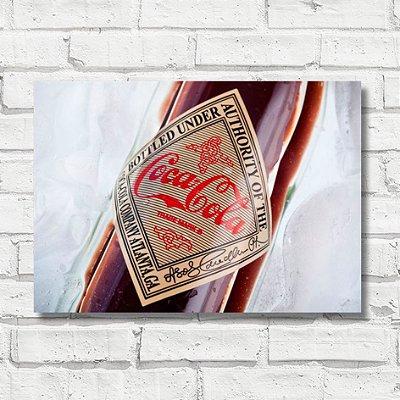 Placa decorativa coca-cola FD043