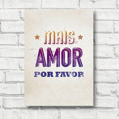 Placa decorativa Frases FD013