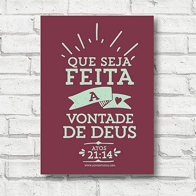 Placa decorativa frases FD014