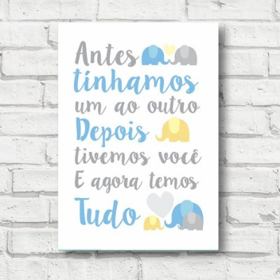 Placa decorativa frases FD021