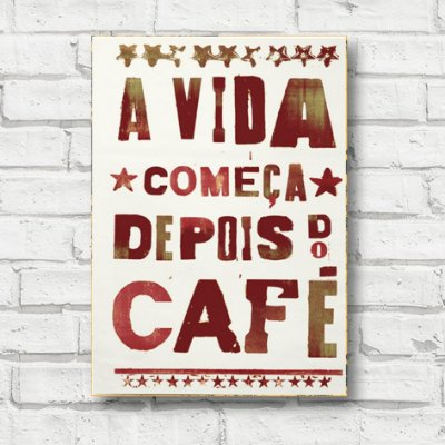 Placa decorativa frases FD070
