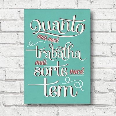 Placa decorativa frases FD019
