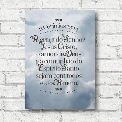 Placa decorativa frases FD167