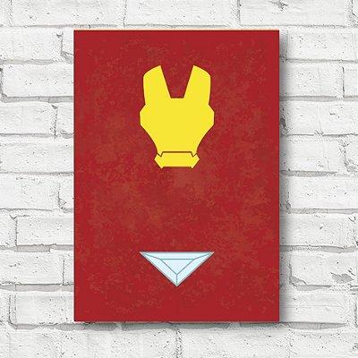Placa decorativa Homem de Ferro FD147