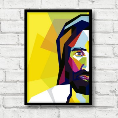 Placa decorativa Jesus FD190