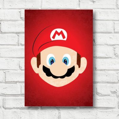 Placa decorativa Mario Bros FD172