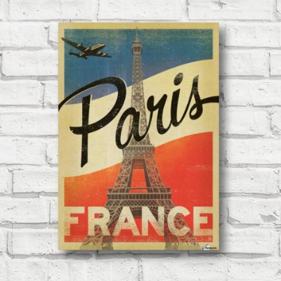 Placa decorativa Paris FD163