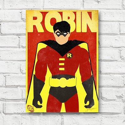 Placa decorativa Robin FD140