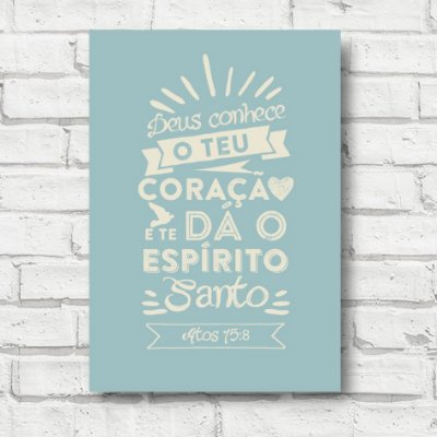 Placa decorativa Frases FD142