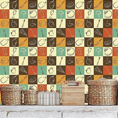 Papel de parede cozinha - Pb031