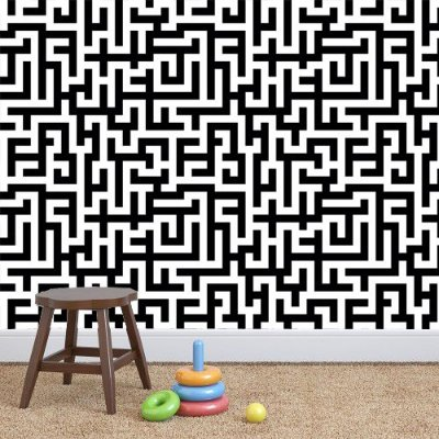 Papel de parede labirinto Pb032