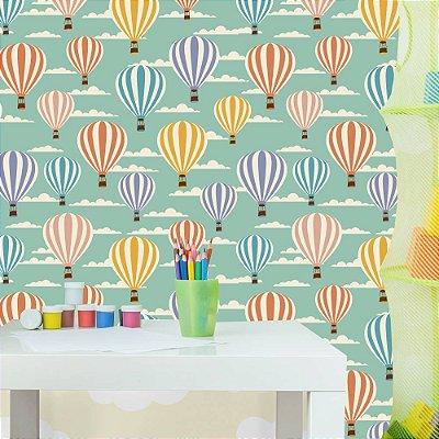Papel de parede balão Pb061