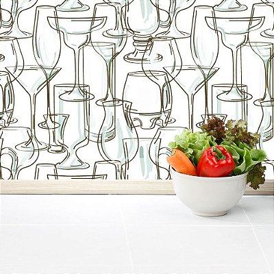 Papel de parede cozinha-Pb046