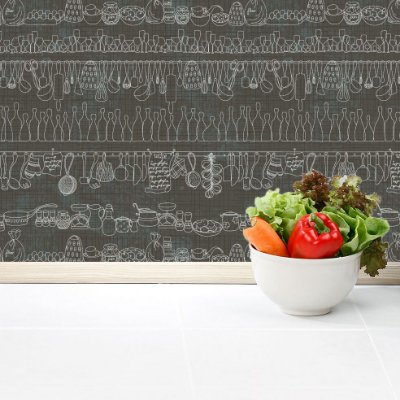 Papel de parede cozinha Pb060