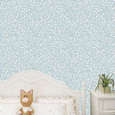 Papel de parede floral-PB056