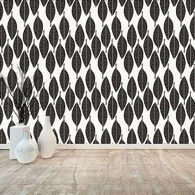 Papel de parede floral-PB59
