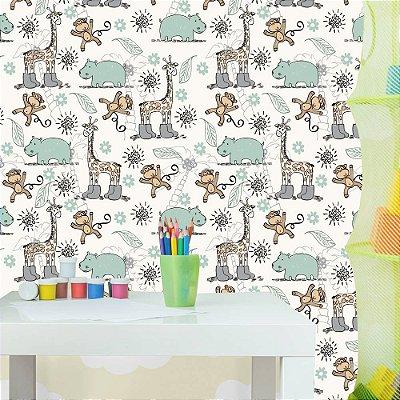 Papel de parede infantil-Pb082
