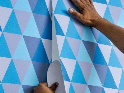 Curso de instalação de papel de parede