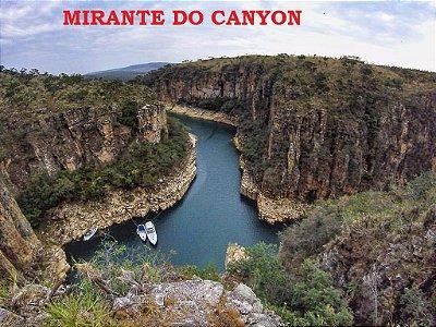Passeio de 4x4 -  Mirante do Canyon, Mirante de Furnas e Cachoeira Diquadinha: 3 horas de duração p/ 4 pessoas