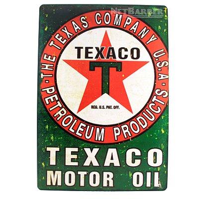 Quadro Texano Motor Oil