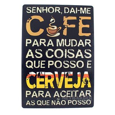 Quadro Café x Cerveja