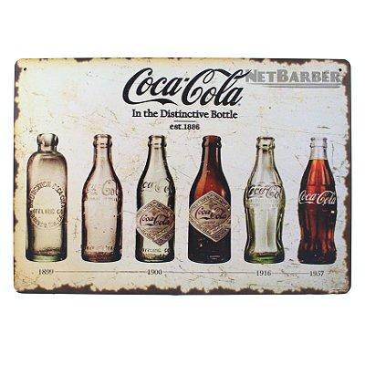 Quadro Coca-Cola 1899-1957