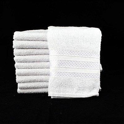 Toalha para Barbearia Branca 45x70