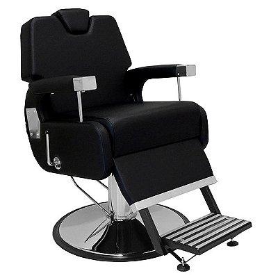 Cadeira De Barbeiro Sevilha - Cálice Cromado