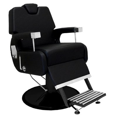 Cadeira De Barbeiro Sevilha - Cálice Preto