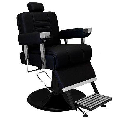 Cadeira De Barbeiro Detroit - Cálice Preto