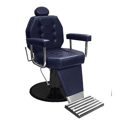Cadeira De Barbeiro Línea - Pé Taça E Braço Estofado
