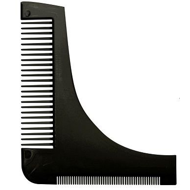 Pente Plástico Alinhador de Barba