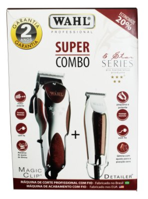 Combo Wahl (Magic Clip + Detailer)