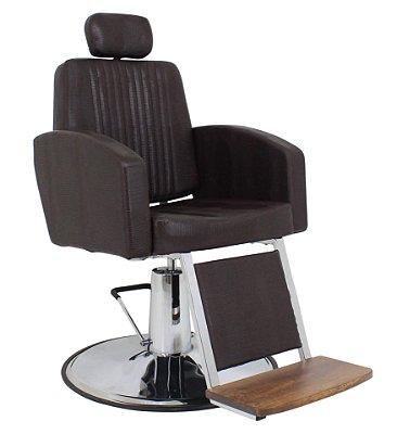 Cadeira De Barbeiro Reclinável Montana