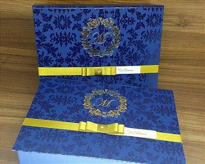 Convite de Casamento para Padrinhos 22x15x8