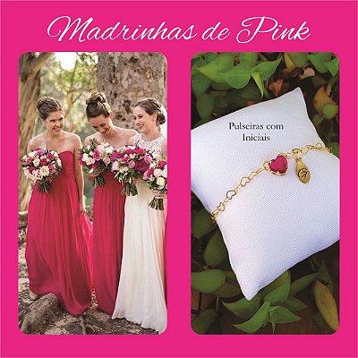 Pulseira Madrinhas Pink