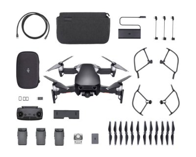 Drone Dji Mavic Air Onyx Black Fly More Combo