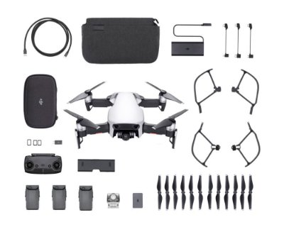 Drone Dji Mavic Air Artic White Fly More Combo