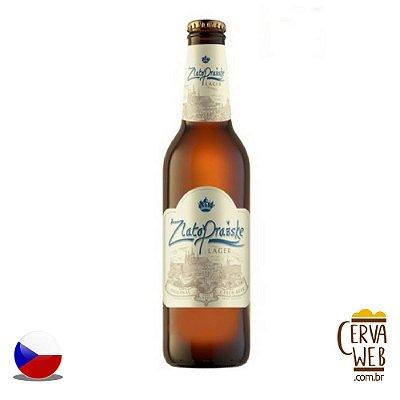 Cerveja Zlato Prazske Exclusive Lager 500ml