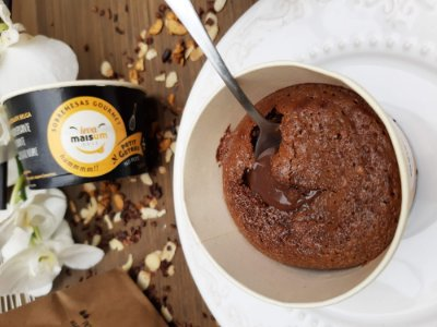 Petit Gateau de chocolate belga