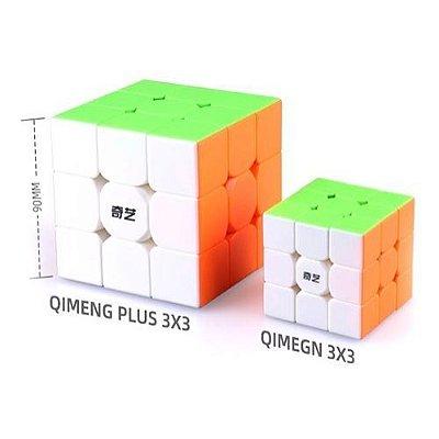 Cubo Mágico 3x3 QiYi QiMeng - 9cm