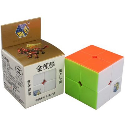 Cubo Mágico 2x2 Yuxin Golden Kylin (Stickerless)
