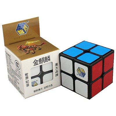 Cubo Mágico 2x2 Yuxin Golden Kylin (Preto)