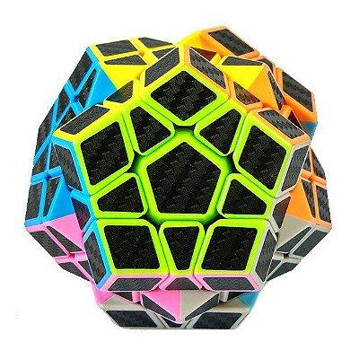 Megaminx Z-Cubes c/ adesivos de carbono.