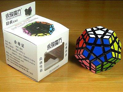 Megaminx MoYu/YJ GuanHu (preto)